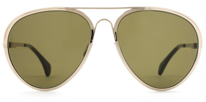 Finest Seven sunglasses: Zero 1 in white gold