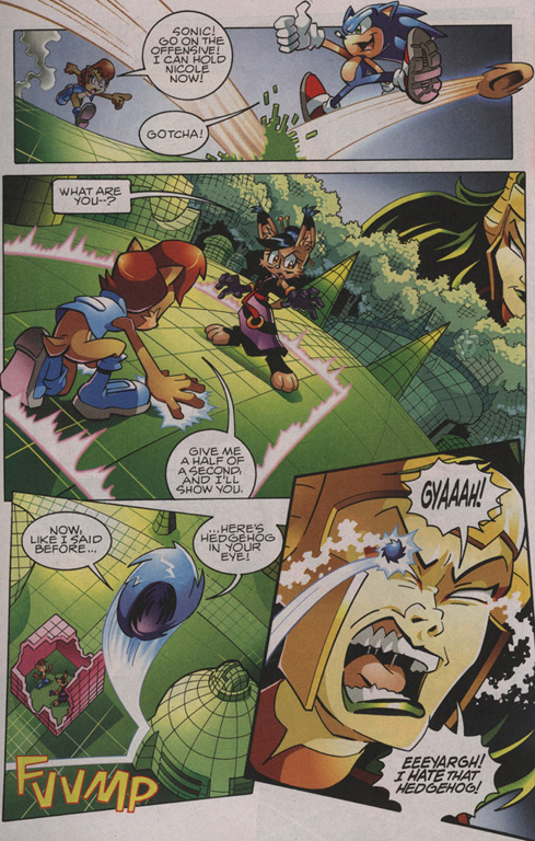 Read online Sonic The Hedgehog comic -  Issue #209 - 18