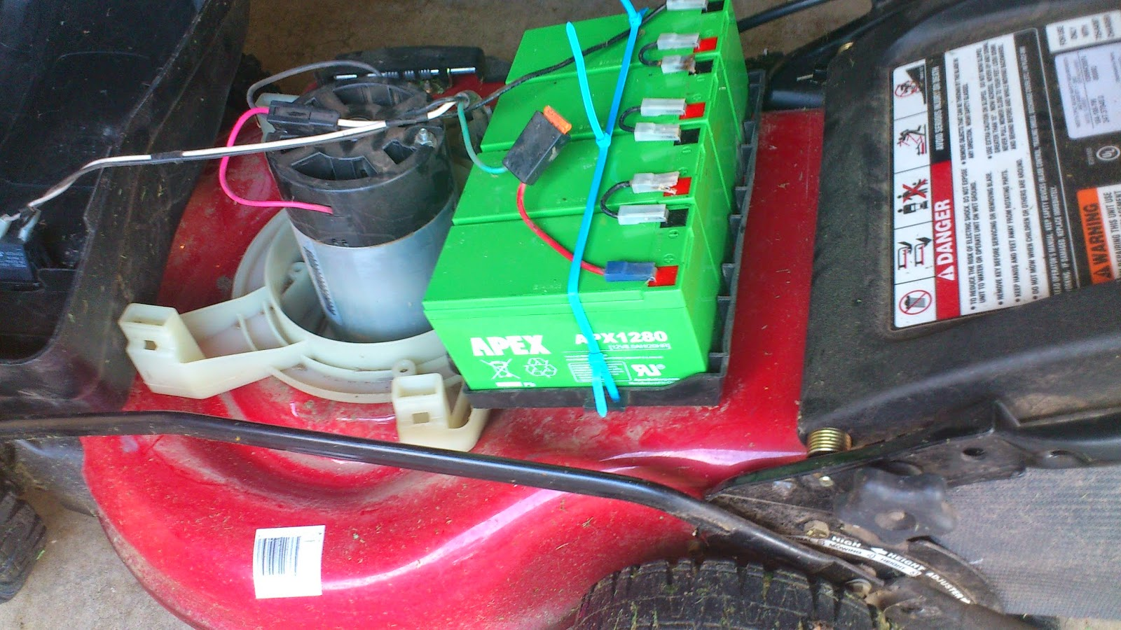 Hanix Diy Public Repairing My Craftman Electric Lawn Mower