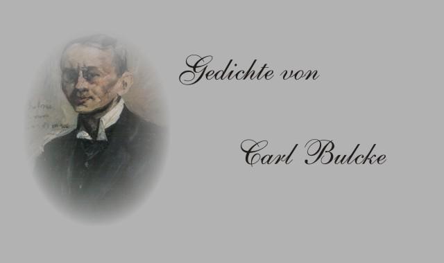 Schriftsteller Carl Bulcke