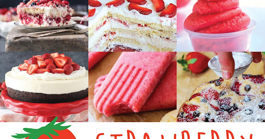 14 Delectable Strawberry Desserts | All Kinds of Yumm
