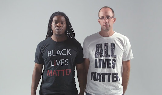 INTERVIEW WITH BLACK LIVES MATTER AND ALL LIVES MATTER