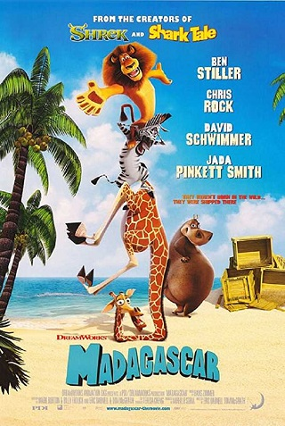 Madagascar 2005 Dual Audio Hindi 700MB BluRay 720p