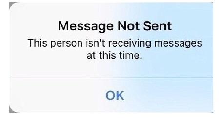 when facebook Messenger chat got Blocked