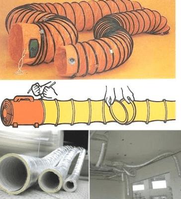Thiết kế ống gió bằng chất dẻo