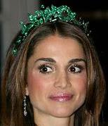 Emerald Ivy Tiara Boucheron Queen Rania Jordan
