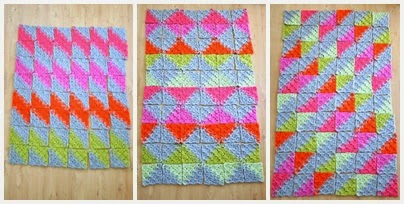 Puzzle Patch Blanket Crochet Pattern
