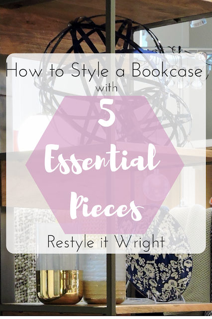 styling a bookcase easy and simple