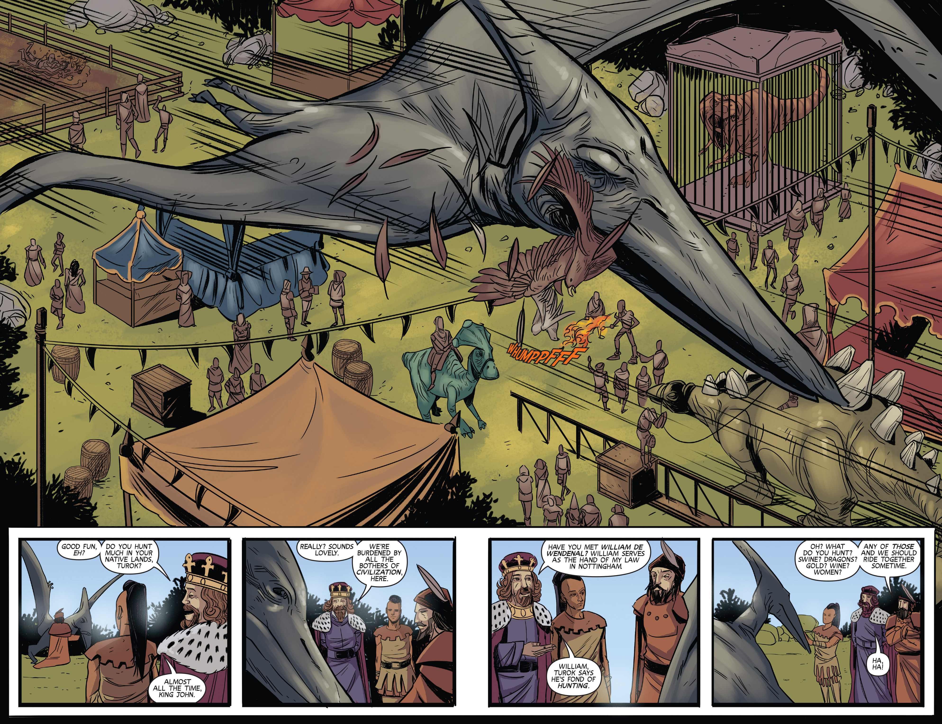 Read online Turok: Dinosaur Hunter (2014) comic -  Issue # _TPB 3 - 29