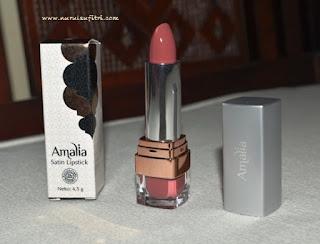 amalia cosmetics satin lipstick premium