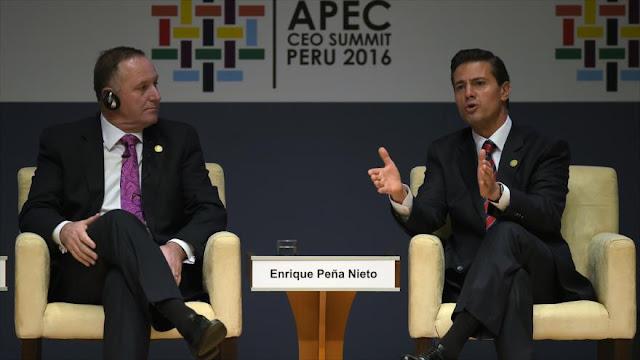 "Presidente mexicano afirma ""privilegiar diálogo"" con Trump"