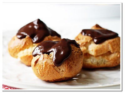 Resepi Cream Puff Coklat
