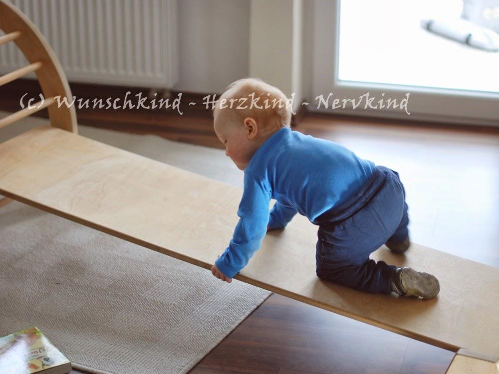 Kletterbogen Oder Dreieck : Wunschkind herzkind nervkind: bewegung und motorik