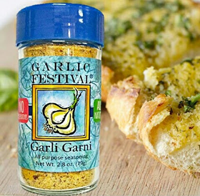 Garlic Food Seasoning (2.8oz) - Natural Gluten-Free Garli Garni