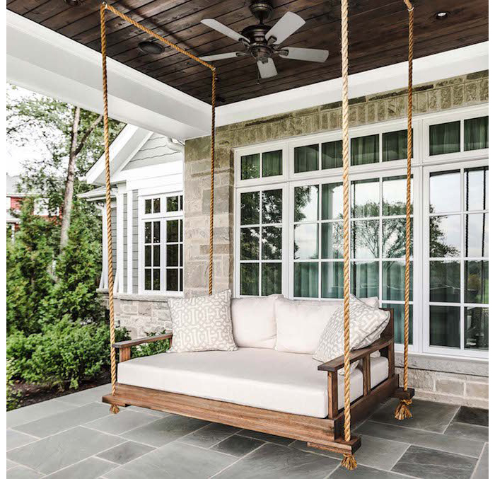 porch swing house