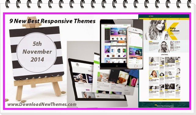 9 New Best Responsive Themes