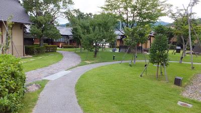 旧堀切邸の足湯 (福島市飯坂町)