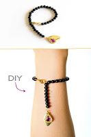 pulseras, rosario, bisutería, diys, manualidades