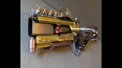 Súng đồ chơi Nerf Hammershot độ chế khoa học viễn tưởng 2