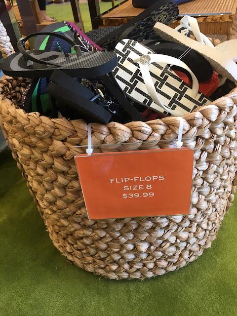 tory burch outlet clarksburg premium flip flops sale