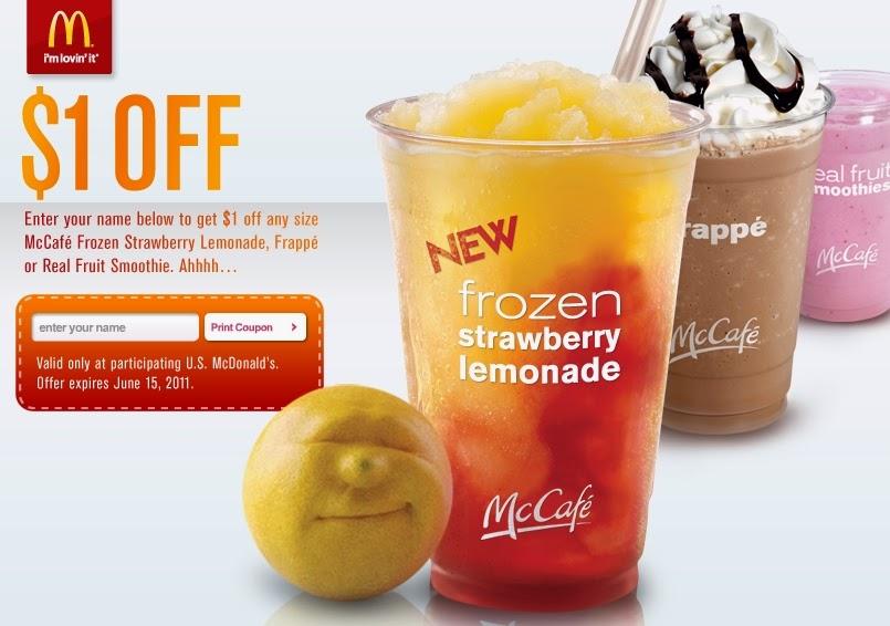 mcdonalds discount coupon