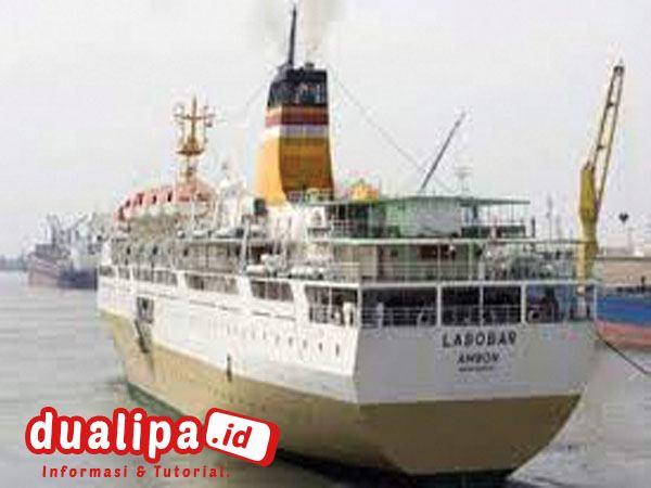 Jadwal Kapal Labobar Bulan Oktober 2021