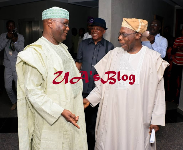 APC Accuses Obasanjo Of Lobbying US To Lift Atiku's Entry Ban