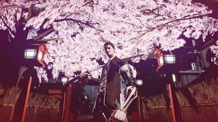 Screen Shot Of Killer is Dead Nightmare Edition (2014) Full PC Game Free Download At worldfree4u.com