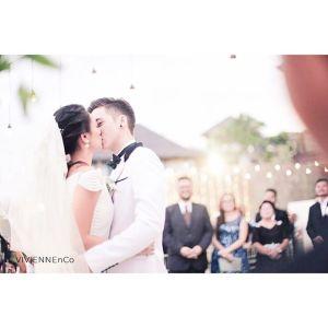 Foto Celine Evangelista ciuman