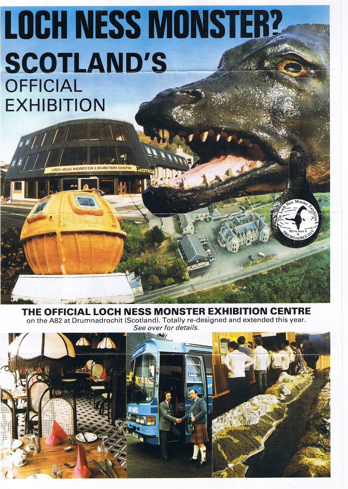 Loch Ness Monster Of Monsters And Exhibitions