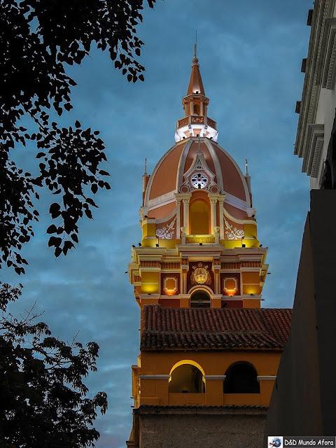 Catedral Basílica Santa Catalina de Alejandría - O que fazer em Cartagena, Colômbia