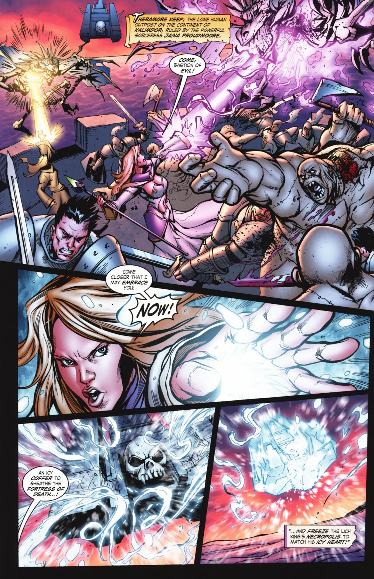 Read online World of Warcraft comic -  Issue #20 - 7