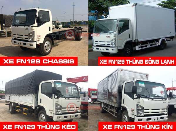 Các dòng xe tải 8.2 tấn VM