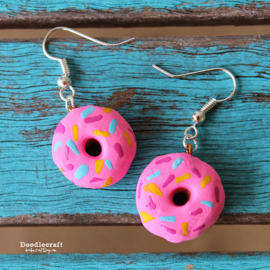 http://www.doodlecraftblog.com/2015/01/sweet-donut-earrings.html
