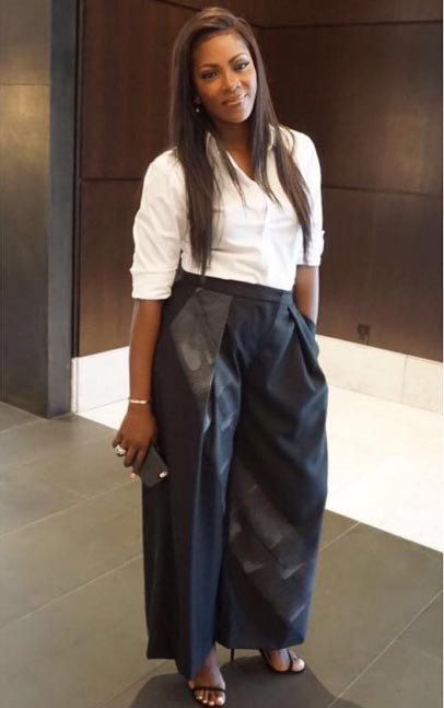 Tiwa Savage hangs out with Janelle Monae, Lupita Nyong'o, Jidenna others