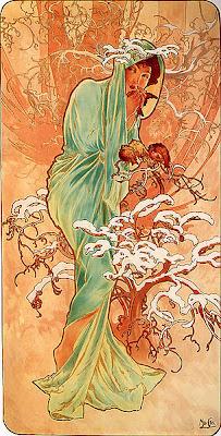 illustrations Alfons Mucha