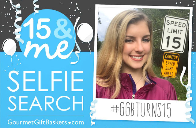 "GourmetGiftBaskets.com Launches National ""15 & Me Selfie Search"" with More Than $2,000 in Prizes!"