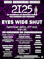 The Secret Room 2125: Eyes Wide Shut Party at 15th Ave. Adult Theater Party Room in Chicago!