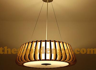 Thế Giới Đèn Gỗ - 8 mẫu đèn trang trí gỗ cho phòng ăn đẹp lung linh 27