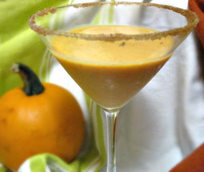 Creamy Pumpkin Martini