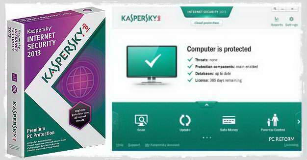 Get free 90 days trail of kaspersky internet security 2013 license.