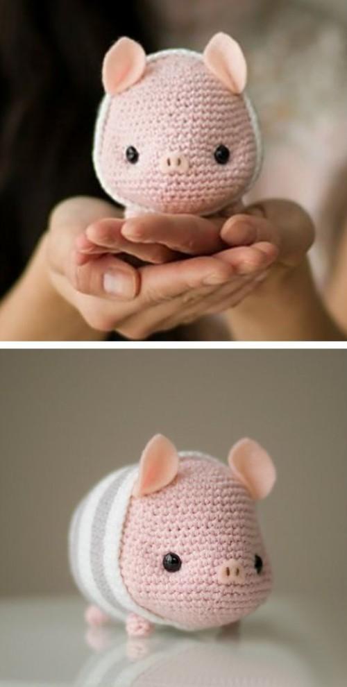 Cute Amigurumi Pig - Free Pattern