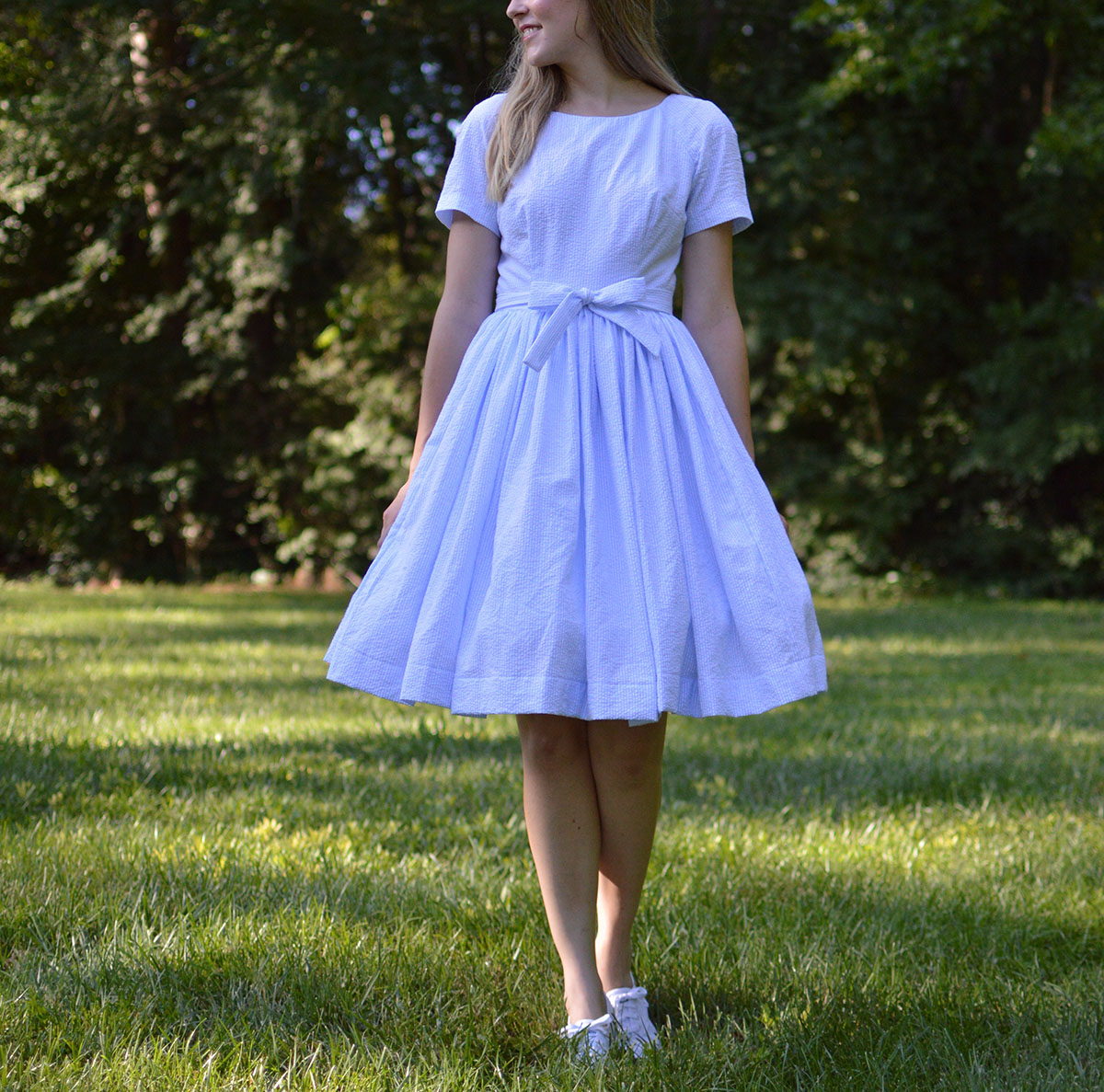 fc5b24944214 If you've been reading--or even better, sewing--along this month over on the  Bernina WeAllSew blog, you'll know I've been making myself a vintage dress  ...