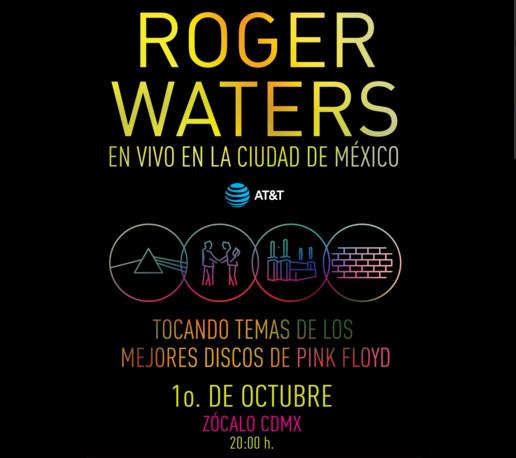 Roger Waters gratis en el Zócalo