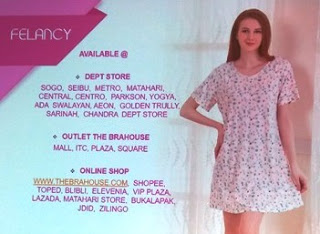department store outlet the bra house dan online shop felancy nurul sufitri blogger