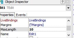 edit maxlength (panjang maksimal)