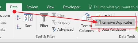 Cara Menghapus Data Ganda Pada Excel 2