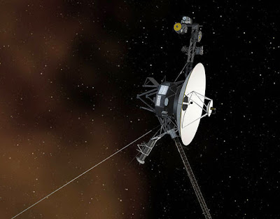 Media on Voyager 1's analogue record has message for aliens.