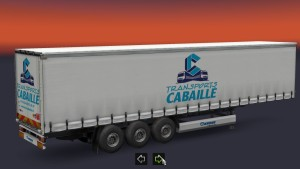 Trailer Transports Cabaille France