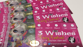 Tickets, 3 Wishes Faerie Festival